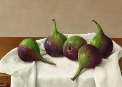 Figs on White Cloth
